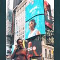 DZALEU.COM : African Lifestyle Magazine - African celebrities : Tiwa Savage on Times Square, New-York
