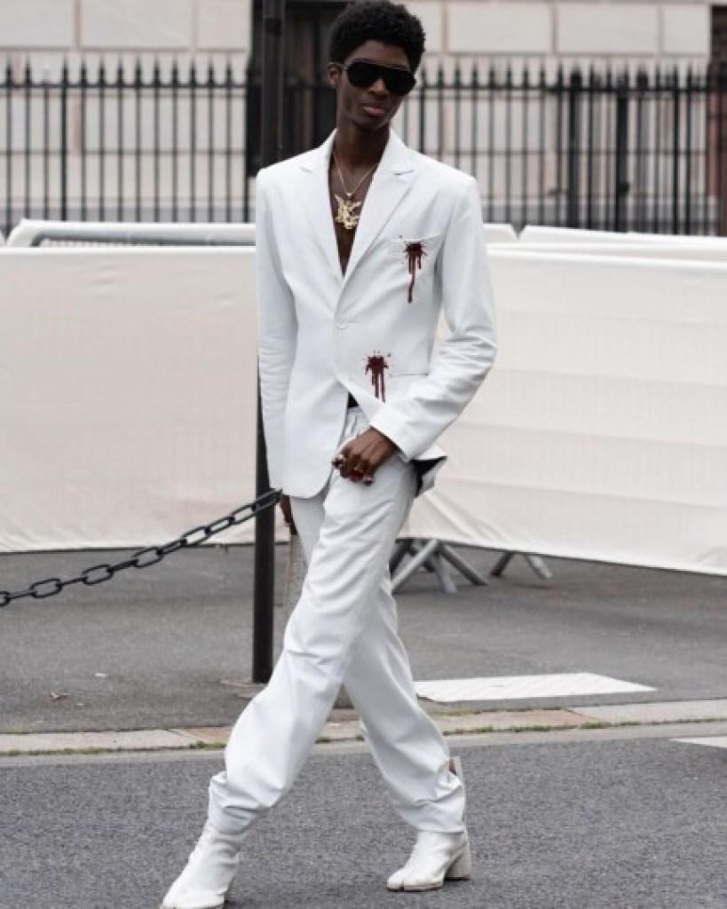 Mannequins hommes Noirs : Alton Mason (USA)
