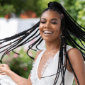 Gabrielle Union with african braids