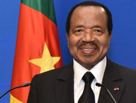 Cameroon : Paul Biya, Head of State