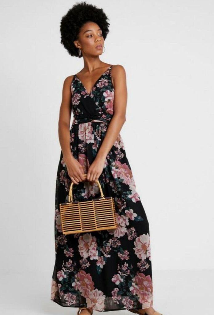DZALEU.COM : African Lifestyle Magazine - MODE & SHOPPING : La robe fleurie (Short Floral Dress - LA PERLA vendue sur Zalando)