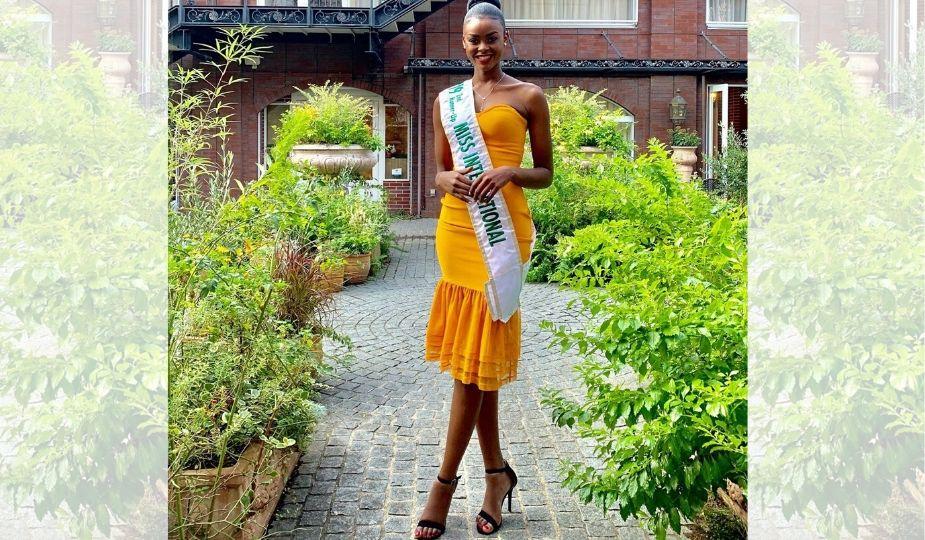 Evelyn namatovu, Kironde, Miss International Ouganda, 2ème dauphine Miss International 2019 à Tokyo