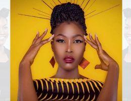 Miss Cameroun 2020 Audrey Nabila Monkam en tresses et nattes africaines