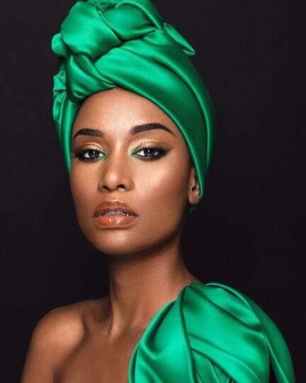 Zozibini Tunzi (Miss Universe 2019, Miss Afrique du Sud 2019)