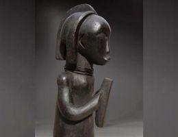 Culture africaine : statuette de Byeri fang-Beti (Ekang - Afrique centrale)