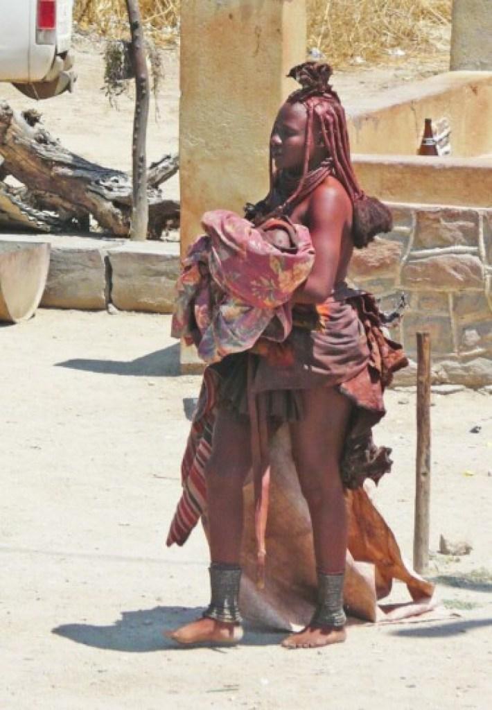 Femme Himba de Namibie