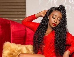 Coiffures Vip : Ini Edo, actrice (Nigeria)