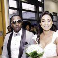 "Lady Ponce et son mari Youmbi Tsafack Aloys dit ""Dieu Cyclone"""