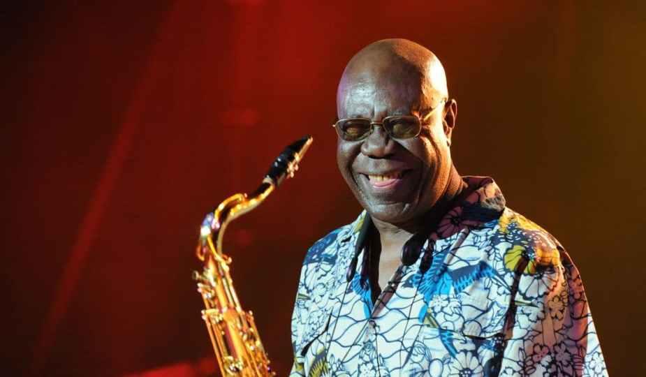Manu Dibango, saxophoniste et musicien camerounais