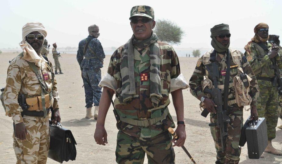 Idriss Déby, président du Tchad - Armée tchadienne