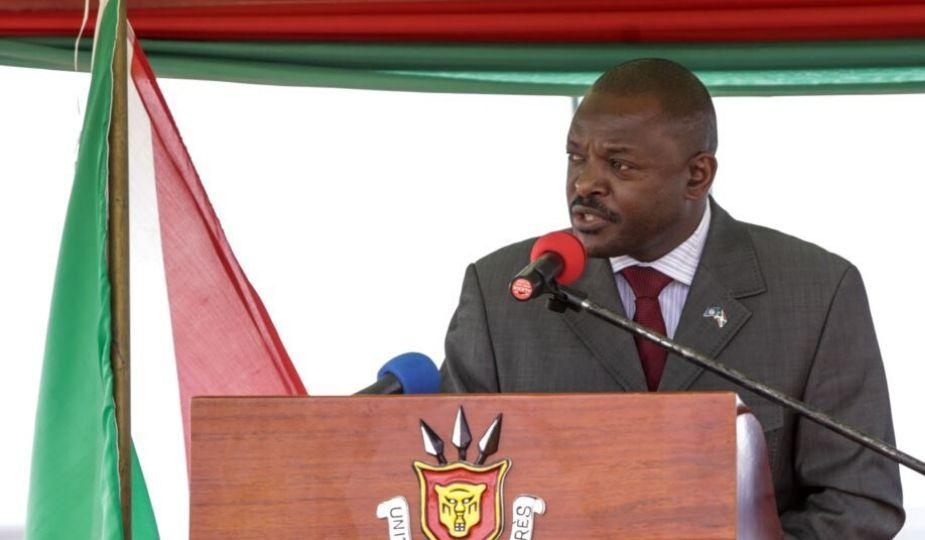 Pierre Nkurunziza (18 décembre 1964 - 8 juin 2020), président du Burundi de 2005 à 2020