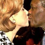 alasanne ouattara president ivoirien et sa femme dominique ouattara