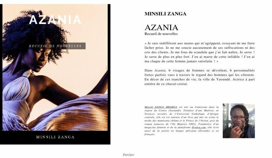 Preview Azania de Minsili Zanga