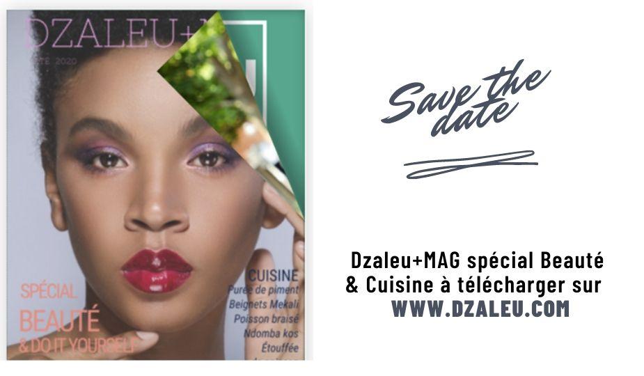 Dzaleu+Mag n°1 Spécial Beauté & Cuisine - cover mag papier