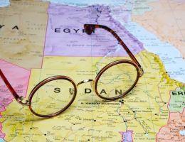 soudan khartoum map carte