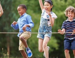 Sport - Enfants jouant