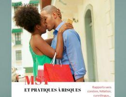couple africain baiser bisou