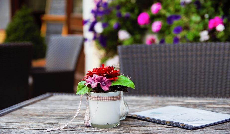 déco fleurs artificiels