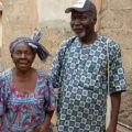 vieux couple africain village