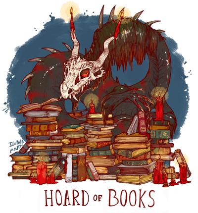 HOARD OF BOOKS PRINT