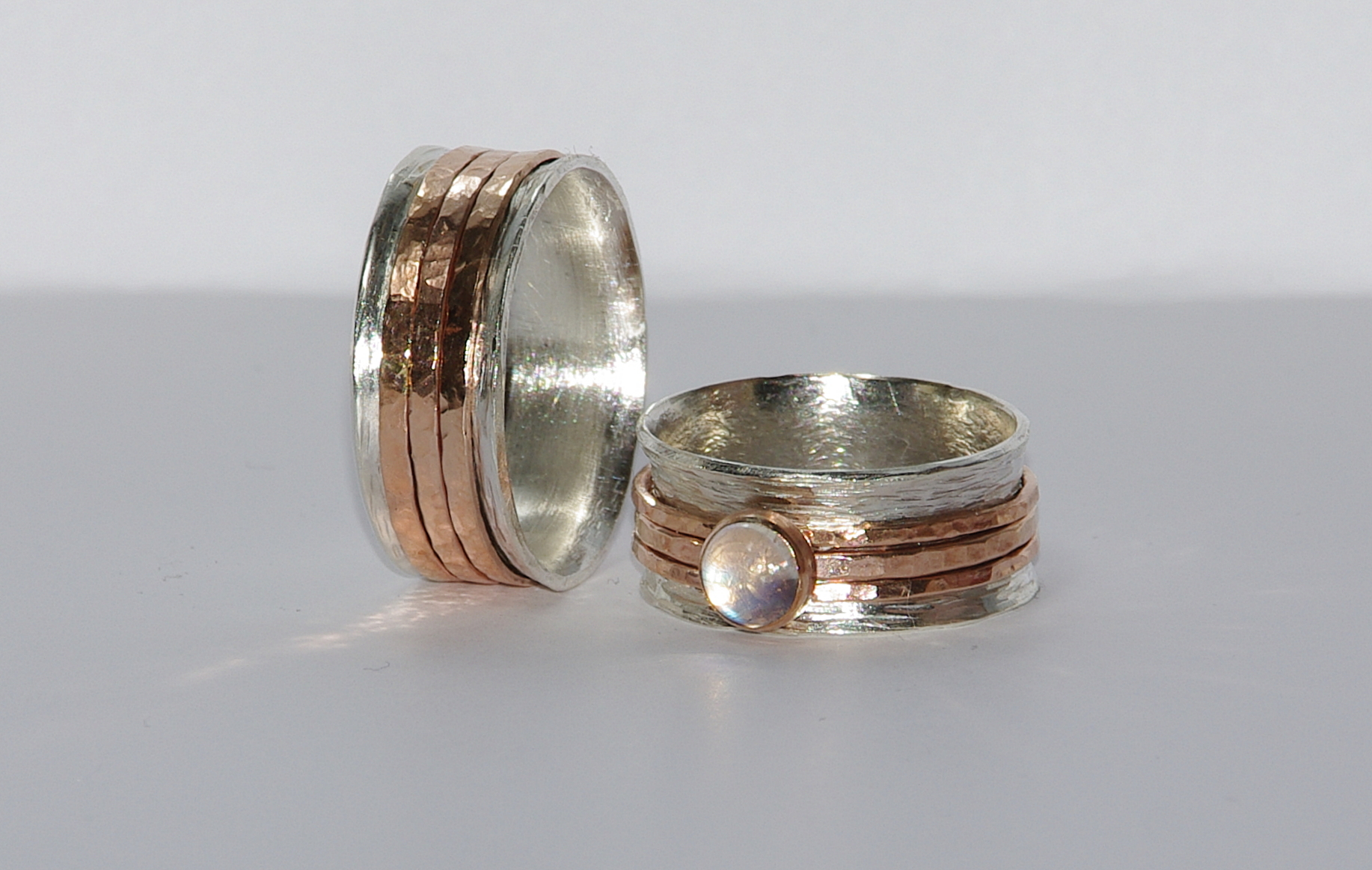 Personalized Unique Wedding Bands  Custom Engraved Words