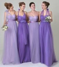 Convertible bridesmaid dresses, tulle junior bridesmaid ...