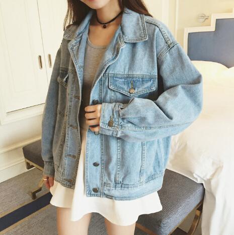 boyfriend vintage denim jacket