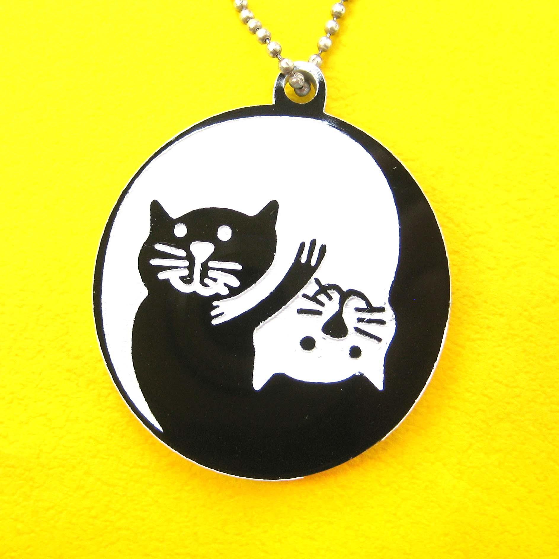 kitty cat yin yang