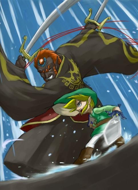 Wind Waker  Link vs Ganondorf Print on Storenvy