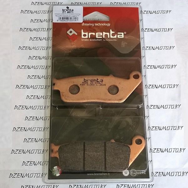 Колодки тормозные BRENTA FT4071 синтетические
