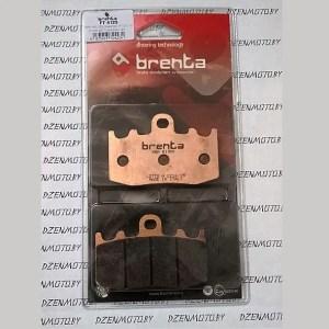 Колодки тормозные BRENTA FT4123 синтетические
