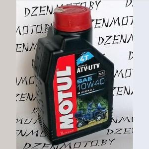 Масло Motul ATV-UTV 4T 10W40 1л минеральное моторное для утилитарных мотовездеходов 105878