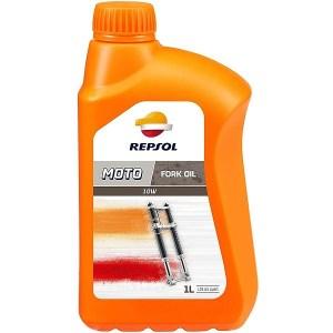 Масло для вилок мотоциклов Repsol Moto FORK OIL 10W 1л RP172X51