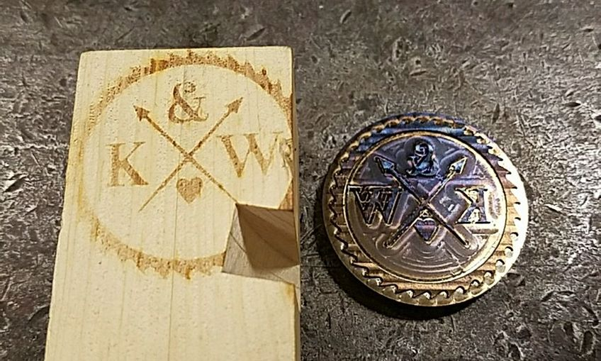 Wood Burning Logo
