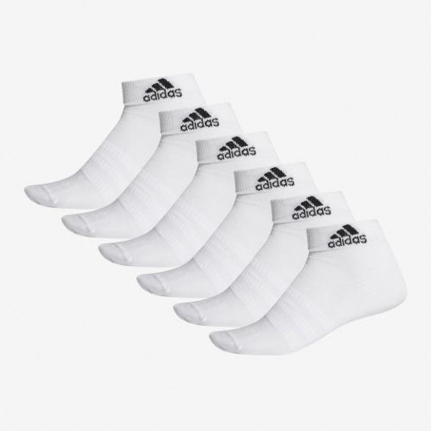 6 paires de chaussettes légères blanche