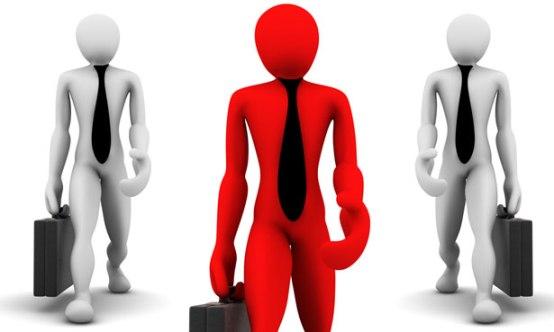 Three Business Men by Kosta Kostov
