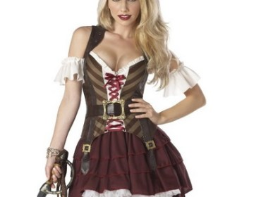Sexy Pirate Halloween Costume