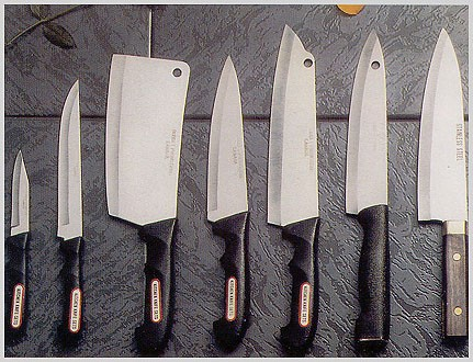 sharp cooking knives