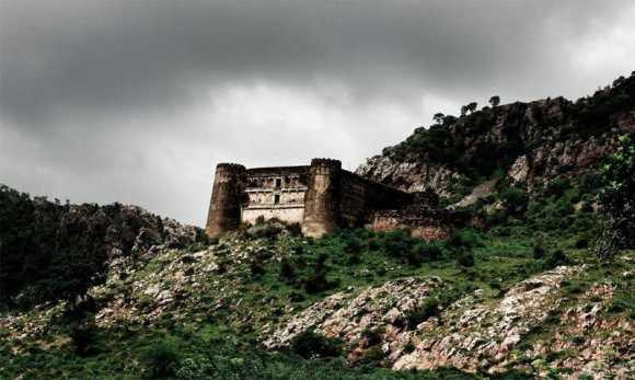Bhanghar Fort – India
