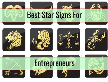 best star signs for entrepreneurs