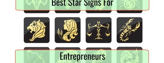best star signs for entrepreneurs