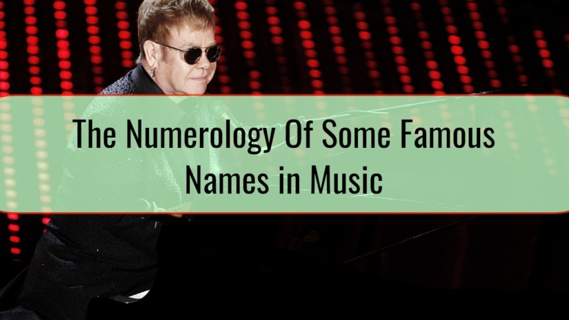 The Numerology Of Some Famous Names in Music • Dzhingarov