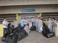 同學及周日班學生前往打掃場地3