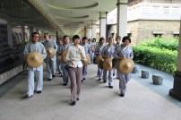 佛光小組為同學導覽佛館
