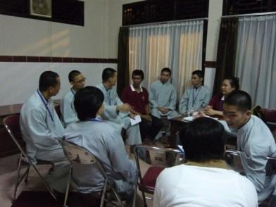 同學與印尼青年交流