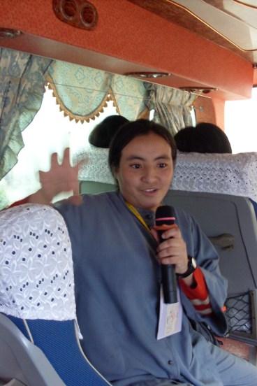 2008年跨國遊學-車上分享感言2