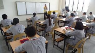 林介森會計師與同學們分享人間佛教。