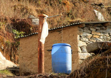 Now every house has a tap with water that flows 24/7