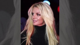 Britney Spears uploaded almost nude photos to the web.