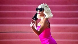 Lady Gaga appeared in an outfit from a Polish designer.  The world media was delighted with her stylization